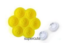 Funny Personalized Smile Face Shaped Wholesale Custom Silicone Novelty Ice Trays