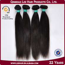 Grade AAAAA+ No Chemical Processed Natural Brazilian Hair Pieces