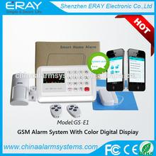 102 alarm records sensor door bell alarm with 10 voice message placy