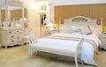 Últimas personalizada estilo francés hotel blanco muebles de dormitorio
