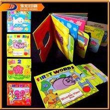 Model die cut children's board book printing service