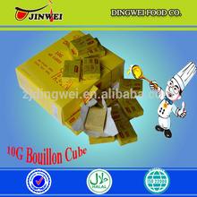 10G X 60CUBES X 24BOXES AFRICA FOOD MUSLIM HALAL BOUILLON CUBE 10g