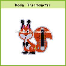 CE Liquid Crystal Digital Cartoon Room Thermometer Card