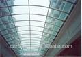 Ga-531 hueco del policarbonato hojas transparentes