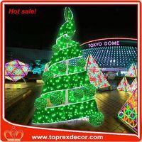 Popular event decor christmas tree motor