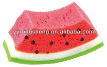 fruit shape sponge