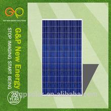 best price power poly 300w solar panel for 45KW solar power system