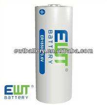 3.6v aa lithium battery 3500mAh high quality Li-SOCL2 battery for meter