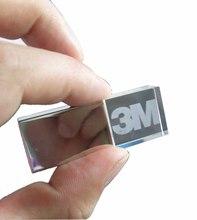 Colorful LED Light Crystal USB Flash Drive 3D Logo Laser Engraving Inside