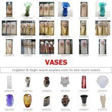 Alta esmalte de vidro : origem One Stop da China : mercado de Yiwu para CrystalVases