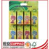 CE,advertising promotional paper hanging car air freshener, jasmine scent