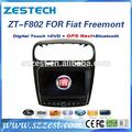 zestech fabbrica oem auto dvd gps per fiat Freemont auto dvd gps sistema di navigazione multimediale capo unità lettore dvd radio