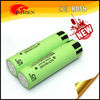 Hottest NCR 18650 battery NCR18650BE 3200mAh 3.7V rechargeable Li-ion battery with flat top