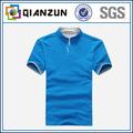 100% algodão 200gsm jersey simples dos homens marca polo t-shirts