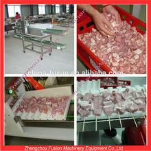 BEST CHOICE beef kebab string machine/meat skewer wearing machine/mutton wear string machine