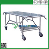 corpse stainless steel mortuary cart