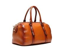 abt6378 brown women vintage cow leather design tote bag handbag manufacturer