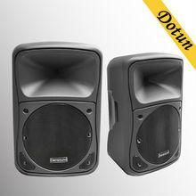 single 10 inch Professional big bass subwoofer wireles speaker/Plastic stage passive Speaker/stage sound system/passive speaker
