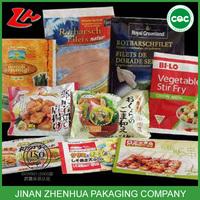 high quality custom vegetables vacuum plastic food bag