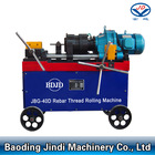 Construction site used JBG-40D Rebar rib-stripping and thread-rolling machine
