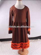 wholesale plus size maxi dress kids christmas fancy western party wear dress long sleeve one-piece dresses
