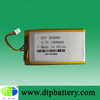 flat cell rechargeable lithium polymer battery with PCB & Connector