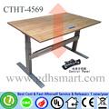 bar balcão de vidro retangular design mesa de bar altura ajustável mesa mesa de escritório