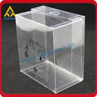 perfume gift plastic packaging box pvc case