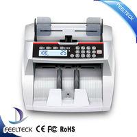 UV+MG+IR hostest intelligent high quality vacuum banknote counter
