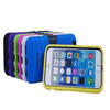 Silicone cell phone Case For iPhone 6 Case With PC Stand , For iPhone 6 Case
