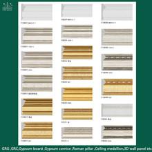 China Plastic Profiles Type PS Decoration Moulding/ Molduras /Baseboard