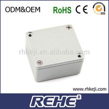 2014 newest High Quality aluminum light box extrusion enclosure case waterproof aluminum box
