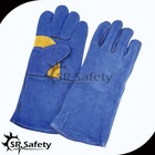 SRSAFETY long welding gloves leather work