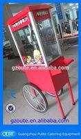 Automatic Mixing Function Popcorn Making Machine Popcorn Machine On Cart