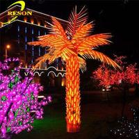 Garden lighting hybrid fruit trees