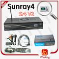 Sunray 800 hd si sr4 triplo sintonizador receptor de satélite digital a china fábrica melhor preço de atacado!