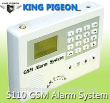 English/Cezch/Spanish/Dutch/Polish/Danish/Portuguese/Italian Security GSM alarm system