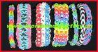 2014 Hot Sale Wholesale gummy bands bracelets shag rubber gummies for Promotion Gifts