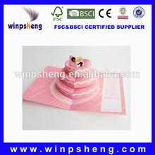 Handicraft 3D Pop Up Wedding Invitation Card