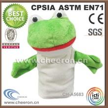 2014 plush stuffed plush frog baby toy