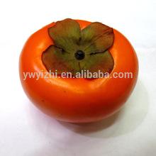 Ingrosso frutta artificiale per la decorazione- artficial cachi