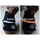 New arrival light up flahsing dog harness vest pattern