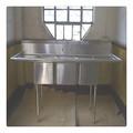 diseño americano de acero inoxidable fregadero de la cocina