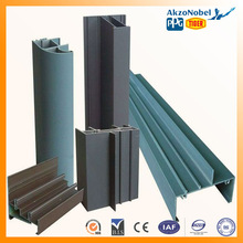 Haida brand high quality aluminum extrusion anodized and power coating profiles for doors and windows