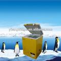 108 litre. dc12v compresseur solaire alimenté congélateur coffre profond avec porte ouverte en haut