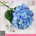 venta al por mayor baratos hortensia artificiales flores artificiales planta para la decoración