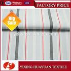 Yarn dyed stripe 100 cotton jersey knit fabric
