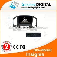 Sharingdigital Car Satnav. GPS with 3G For OPEL Insignia Car DVD player with RDS