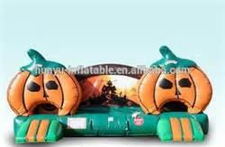 inflatable pumpkin bouncy/inflatable halloween bouncer