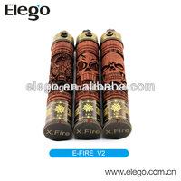 Original Vision E fire X-fire wooden e pipe wholesale from elego
